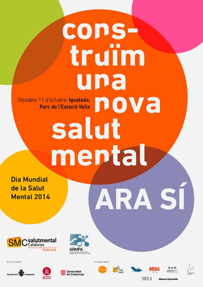 Cartell-dia-Mundial-de-la-Salut-Mental,-Igualada-2014