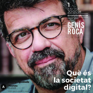 Genís Roca als Dimarts/Disruptius