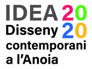 Logotip de l'exposició IDEA2020